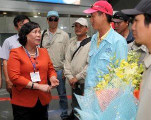 Năm 2014 Việt Nam đặt mục tiêu đưa 90 nghìn lao động đi nước ngoài